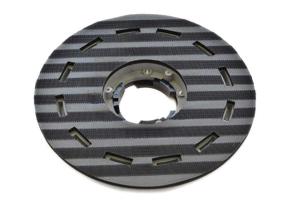 PAD HOLDER FOR ABRASIVE FLOOR PADS