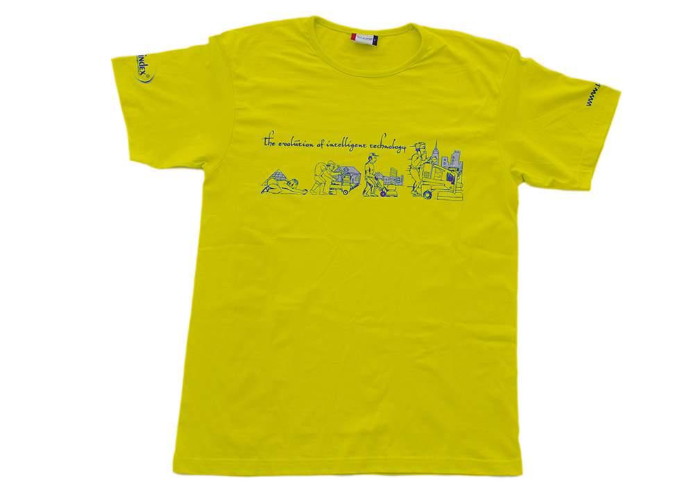 KLINDEX'S YELLOW T-SHIRTS