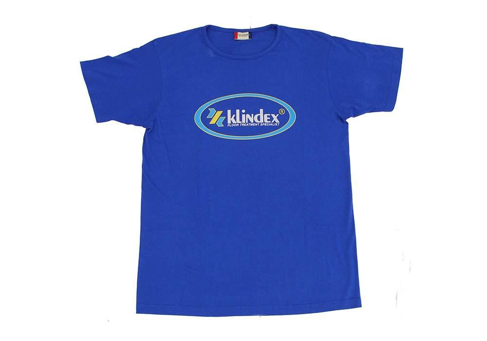KLINDEX'S BLUE T-SHIRTS